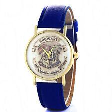 Reloj de Pulsera Harry Potter Hogwarts Unisex Correa azul ajustable Ravenclaw