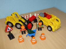 LEGO Duplo Ville 4688 Baustelle Bagger LKW mit Figuren 486