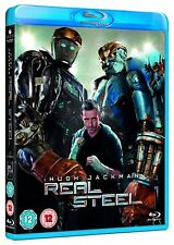 REAL STEEL - 2012 Hugh Jackman, Anthony Mackie - Brand New and Sealed UK Blu-Ray