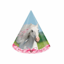 Heart my Horse Party Supplies Girls Birthday Cone Hats 8ct.