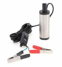 Pompa travaso olio gasolio diesel benzina miscela liquidi per auto 12v