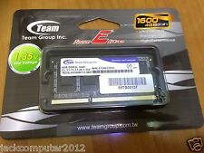 Team Elite 1.35V PC3-12800 4GB DDR3 1600MHz SODIMM Ram Memory Notebook Laptop
