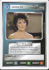 STAR TREK CCG WHITE BORDER PREMIERE 1995 BETA RARE CARD LWAXANA TROI