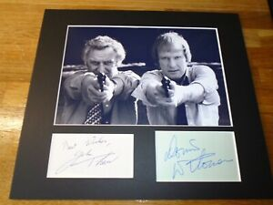 The Sweeney John Thaw Genuine Signed Authentic Autograph - UACC / AFTAL.