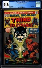 Marvel Two-In-One 6 CGC 9.6 WP Bronze Age Key Marvel Comic 1st Issue L@@K IGKC