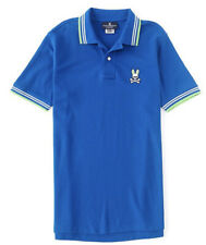 Psycho Bunny Chalton Short Sleeve Polo Shirt Size 6 Large Prussian Brand New  🐰
