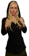 Abrigos y chaquetas de mujer de color principal negro 100% algodón