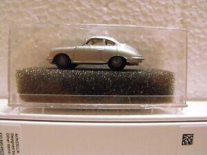 1/87 Praline Porsche 356 METALLIK  IN A CASE - SILVER   (6)