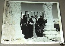 (Set of 2) Meeting in Tedmor لقاء في تدمر Duraid Laham Arabic B&W Photos 60s