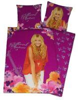 Herding Disney Hannah Montana Bettwäsche Set 2 teilig 135x200cm 100% Baumwolle