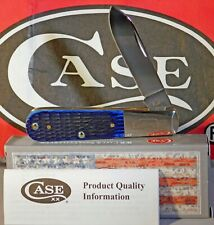 Case XX Rogers Corn Cob Jigged Blue Bone Barlow Knife/Knives NEW