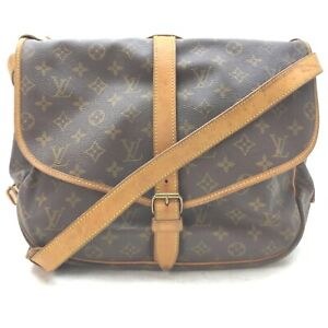 Louis Vuitton Shoulder Bag Saumur 35 M42254 Browns Monogram 1905790