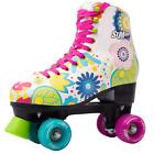 Roller Skates for Women Size 8.5  Pink Flower Vintage Derby 4 Wheels
