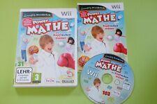 Power Mathe Der Kopfrechentrainer Nintendo Wii
