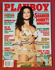SHANNEN DOHERTY signed PLAYBOY 2003 IN PERSON autograph 90210 CHARMED SEXY PROOF