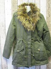 Cotton Blend Zip Coats & Jackets Plus Size for Women