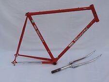 Vintage Bianchi Special Columbus 57cm Red Road Bike Frameset Frame and Fork