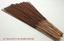 """100 Quality UK Made 13"""" Long Burning Incense Sticks Why Buy FLIMSY Imports Channel 5 Ethical Production in The U.k"""