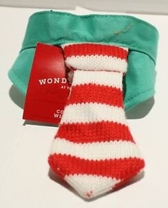 NWT Wondershop Holiday Cat Collar w/Tie - One Size