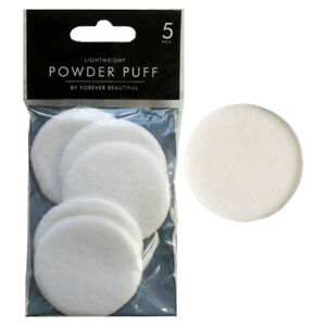 Pack of 5 Cosmetic Powder Puff Face Makeup Sponges Beauty Applicator