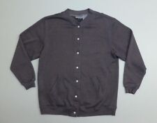 Blair Womens Size Med Purple Grey Button Down Sweater New Without Tags