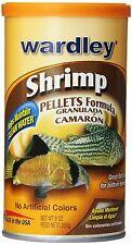 Premium Sinking Shrimp Pellets, Fish Food, 9 oz