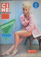 revue cinéma-télé: Ciné Revue: N°41 octobre 1963