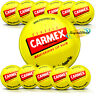 12x Carmex Classic Moisturising Lip Protection Balm Pot Dry Chapped Lips 7.5g