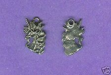 20 wholesale lead free pewter unicorn charms 1047