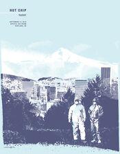 Hot Chip September 2012 Limited Edition Gig Poster