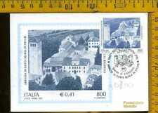 Repubblica F.D.C. Cartolina Maximum ad 700 santa Maria in Sylvis