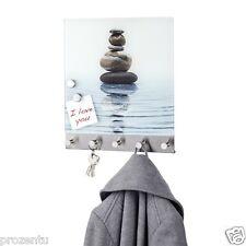 WenkoMagnetische Garderobe Meditation & 5 Haken 30 x 34 cm 50400100 Memo Board