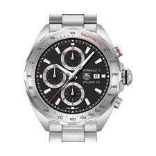 TAG Heuer Silver Strap Analog Wristwatches