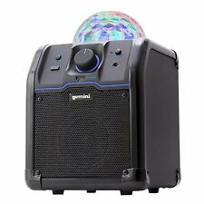 Gemini Wireless Speaker with Party Lights Bluetooth Wireless rechargeable