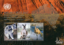 UN United Nations 2017 MNH FIAP Melbourne 2017 3v M/S Wild Animals Koalas Stamps