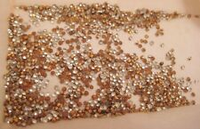 Old Bohemia Crystal Chatonfoils in PKG - Rhinestones Parts for Jewelry Repair