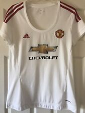 New listing 2016 ADIDAS MANCHESTER UNITED WOMEN FOOTBALL SHIRT SOCCER JERSEY LARGE