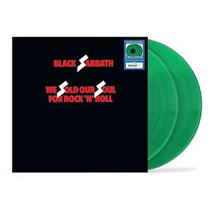"Black Sabbath ""We Sold our Soul for Rock 'N' Rol""l 2XLP Green Vinyl Sealed Ozzy"