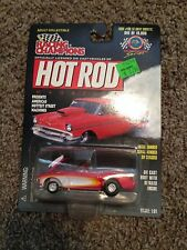 Rare 1/64 RC Hot Rod Mag #108 '57 1957 Chevy Corvette Pro Street 1 of 19,998