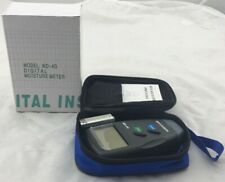 MD-4G 4 Pin Digital Wood Moisture Humidity Meter Damp Detector Tester 5% - 40% N
