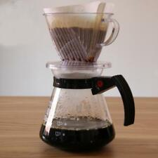 Clear Coffee Filter Clever Coffee Dripper Cone Reusable Brewer Portable