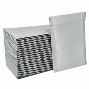 ANY SIZE POLY  WHITE BUBBLE MAILERS MAILING  SHIPPING  PADDED BAGS ENVELOPES
