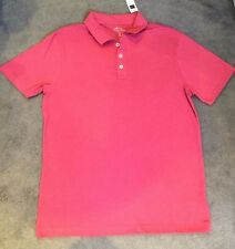 GAP - BRAND NEW PURE COTTON PINK POLO NECK T.SHIRT WITH SHORT SLEEVES - M- BNWT