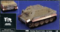 Verlinden 1:35 Sturmtiger Zimmerit & Fenders Resin Detail for Tamiya Kit #1462