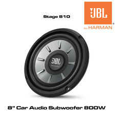 "JBL STAGE 810 - 8"" Car Audio Subwoofer 800W Car Sub Bass Woofer 4-Ohm Woofer"