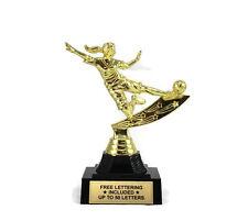 Soccer Trophy, Female- Futbol- Midfielder- Desktop Series- Free Lettering