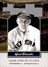 2008 Upper Deck Yankee Stadium Legacy Collection #1598 Spud Chandler (ref 7917)