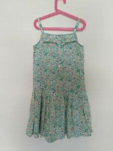 JACADI Paris Liberty of London Summer Dress Sz 10 Girls EUC