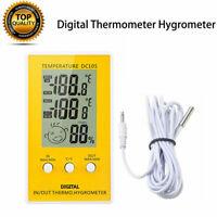 Luft Feuchtigkeit Messer Thermometer Hygrometer Messgerät Digital für Innen Raum