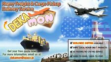 Heavy Freight and Cargo Pickup Delivery Service Dekamon (Worldwide Shipping)